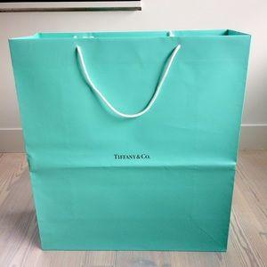 TIFFANY & CO large shopping bag